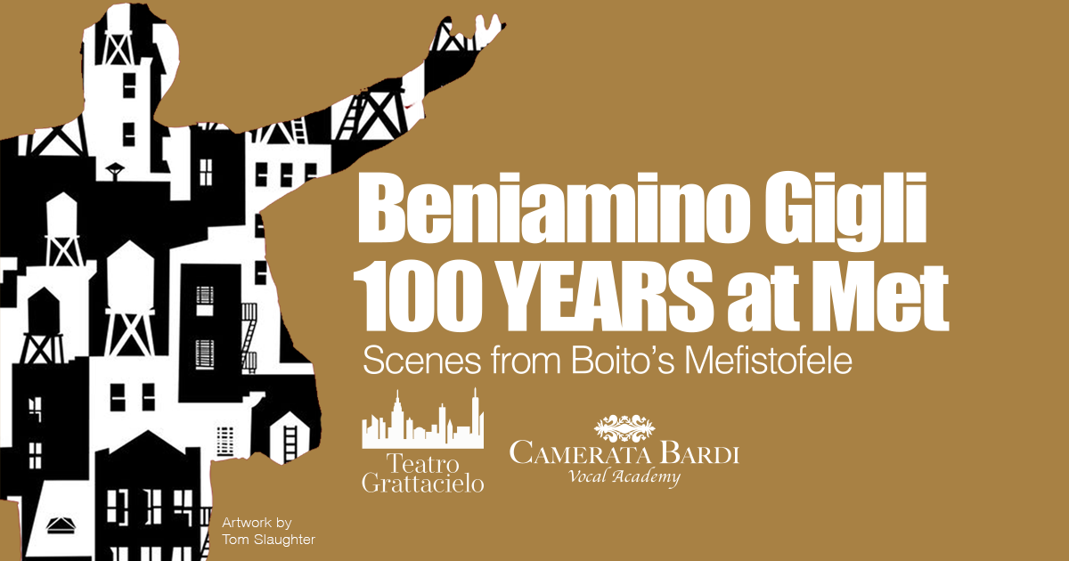 Beniamino Gigli, 100 YEARS at  The Met, Scenes from Boito's Mefistofele