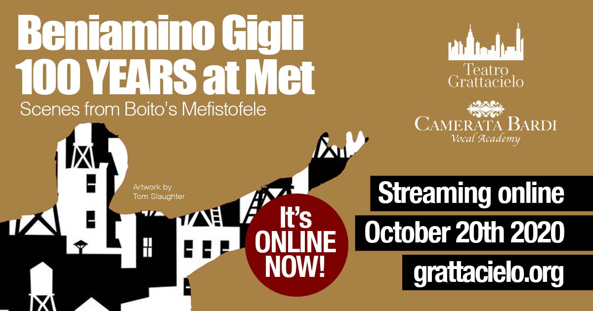 Beniamino Gigli, 100 YEARS at  The Met, Scenes from Boito's Mefistofele
